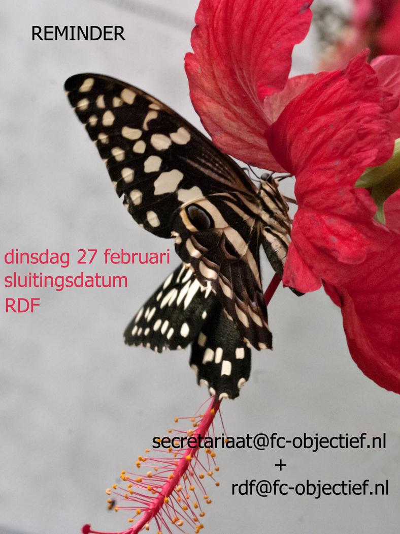 RDF sluitingsdatum nadert